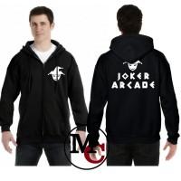 JAKET ZIPPER SWEATER JOKER ARCAD - MUTIARA COSTUM