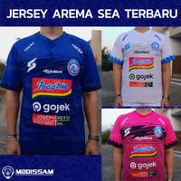 Kaos Baju jersey arema biru kuning gold fc liga 1 2019 - 2020 mboissam