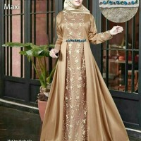 Gamis Baju Seragam Pesta Modern Baju Muslim Wanita Gamis....