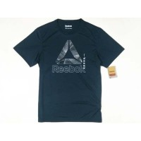 Baju Reebok CrossFit Graphic T-Shirt Mixed TM09T DarkGreen Original