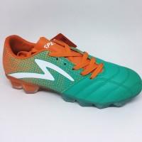 Sepatu bola specs equinox fg comfrey green orange white original new