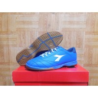 Sepatu Futsal Diadora 6Play ID Original - Blue - Sepakbola - Football