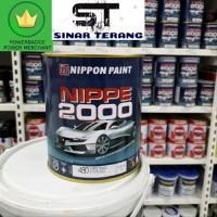 Nippe 2000 / nippon paint / cat minyak kayu warna hitam/putih / Doff