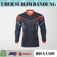 Baju Kaos Jersey Sepeda Motocross Trail Lengan Panjang Motor racing 4