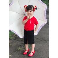 Veyl Kids Kay Atasan Wanita Warna Merah