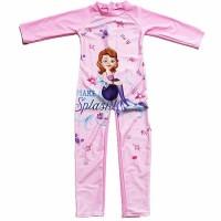 SFT0808-sofia Baju Renang Anak Lengan Panjang Karakter Cantik Terbaru