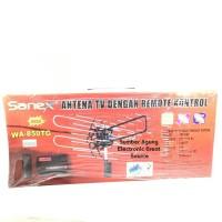Sanex Antena TV Dengan Remote Kontrol WA850TG 850 Merah Anten Remot