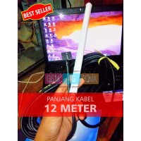 ANTENA PENGUAT SINYAL HP MODEM ROUTER MIFI 4G - Kabel 12 m