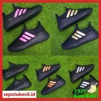 Sepatu Anak Adidas Slip On Full Hitam Size 31-35 Grade Ori Vietnam