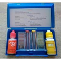 Paket Teskit Alat + Refill Ph dan CL - Teskit Set Alat Kolam Renang
