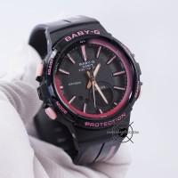 Jam Tangan Baby-G BGS-100RT-1A Black Pink Glossy BABYG BGS100 ORI BM