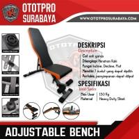Adjustable Bench /Bangku Gym/Fitnes/Fitness/Olahraga/Bodybuilding/3in1