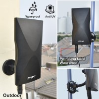 Antena tv Digital Bagus dan Berkualitas Kabel 12 Meter