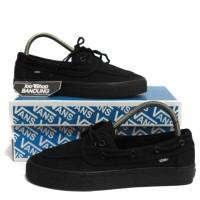 Sepatu Vans Zapato Full Black Hitam polos 36 - 44 ICC Premium Import