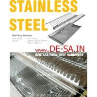 Huben Rak Piring Stainless Steel 60cm