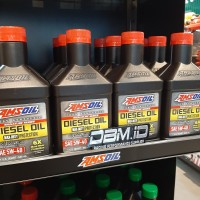 Oli amsoil diesel signature max duty 5w40 sintetik oil SAE 5w-40