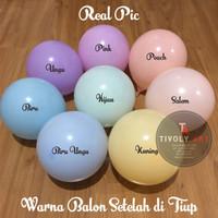 Balon Latex Macaron / Balon Latex Pastel / Balon Pastel 10 Inch ECERAN