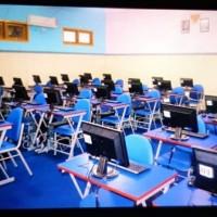 Meja Komputer Bangku Sekolah Meja Lab Komputer Kursi Kuliah Surabaya