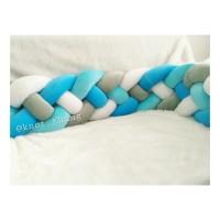 bumper kepang 4 panjang 1,5 m dan 1,8 m bumper baby box knot