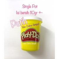 PUTIH 110gr lilin Play Doh ORIGINAL Playdoh refill (Bukan Fundoh)