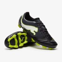 Sepatu Bola Puma Powercat 4.12 Black Lime ORI