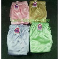isi 12 pcs Celana Dalam Wanita Dewasa Dara Bahan Saten / Satin Licin