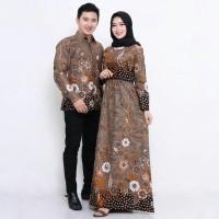 Couple Gamis Batik Baju Batik Couple Gamis Muslimah Sarimbit Keluarga