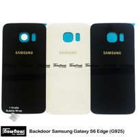 Backdoor Tutup Belakang Back Cover Casing Samsung Galaxy S6 Edge G925