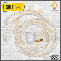 KZ Upgrade cable silver plated earphone Tipe A B C for ZSN ZST ZS3 etc