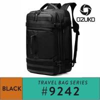 Ozuko Backpack #9242 S/L Black