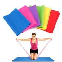 tali karet elastis yoga elastic tension resistance arm band gym yoga