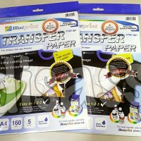 TRANSFER PAPER BLUEPRINT DARK A4 160GSM - UNTUK KAOS HITAM - DISASS
