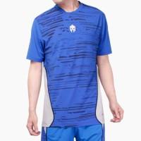 Baju Olahraga Futsal Jersey MILLS Football Tshirt 1009 Royal - Biru, M