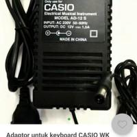 adaptor untuk keyboard CASIO tipe Wk-1800.Wk-3300.Wk-3500.Wk-3800