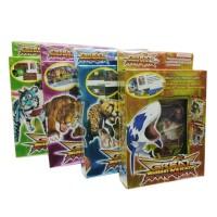 27Pcs/Box Kartu Permainan Animal Kaiser English Version Edisi Super Ra