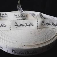 cetak label pita baju katun