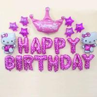 paket balon ulang tahun#paket balon dekorasi hello kitty#balon ultah#