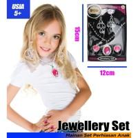GM - Mainan Perihasan Anak Jewelery Princess Kalung Cincin Anting Lucu