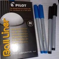 Pulpen Pilot Ball Liner 0.8/pack ⠀⠀⠀⠀⠀⠀⠀⠀⠀⠀