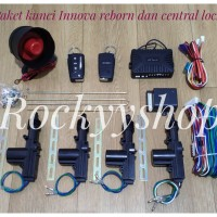 PAKET ALARM MOBIL REMOTE INNOVA REBORN DAN CENTRAL LOCK