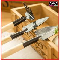 sekop peralatan berkebun mini praktis garden tools kebun 3 in 1