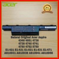 Baterai Laptop Acer Original 4741 4739 4738 4750 4752 E1-432 E1-471