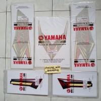 lis body/ striping/stiker Yamaha rx king merah 2008 ori asli YGP