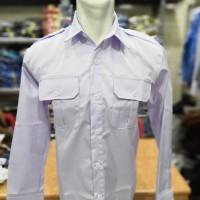 Baju PDH, Pemda, Dinas putih panjang