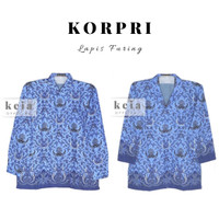 Baju Batik Korpri ( Lapis Furing) PNS S-3L