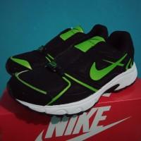 Sepatu Olah Raga TNI Polri ASN Persit Nike Hitam Hijau
