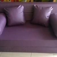 cover sofabed kain pengganti bahan oscar 145x20