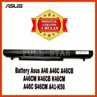 Baterai Laptop Asus A46C A46CB A46CM K46CB K46CM S46C S46CM A41-K56