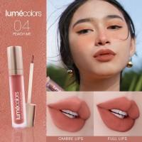 Peach Me - Lip & Cheek Mousse Matte Lumecolors Peach Me