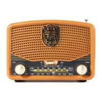 Terbaru Portabel Retro FM AM SW Radio AUX USB Kartu TF bluetooth